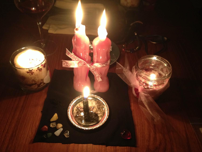 Фото ужина при свечах момент