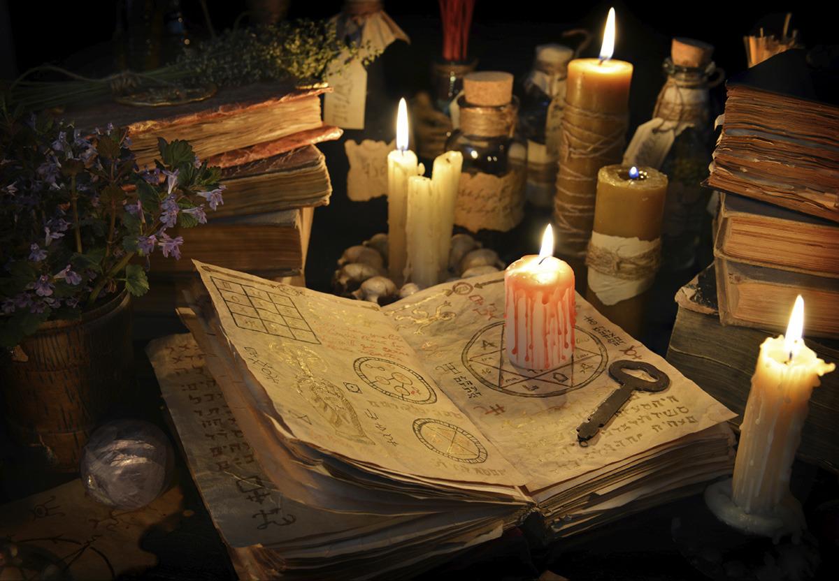 Белая магия книги картинки