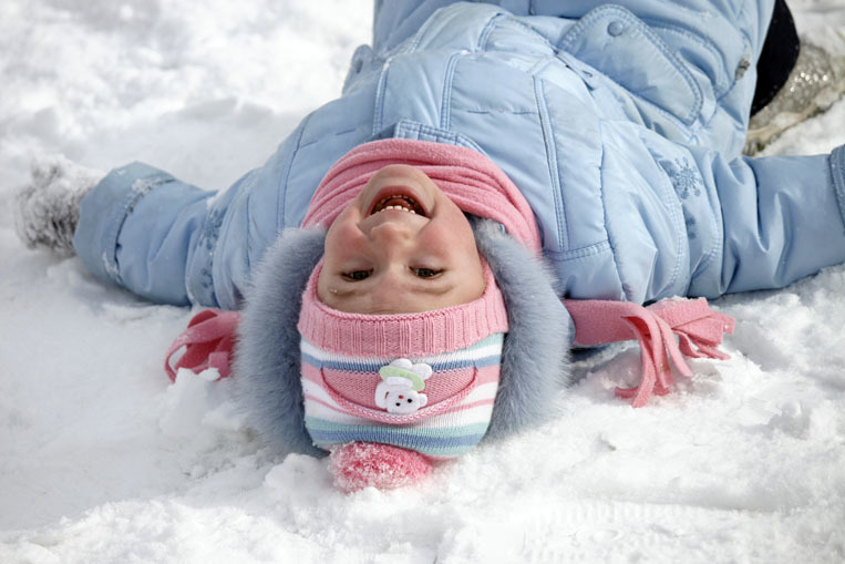 Прикольные картинки с детьми зимой